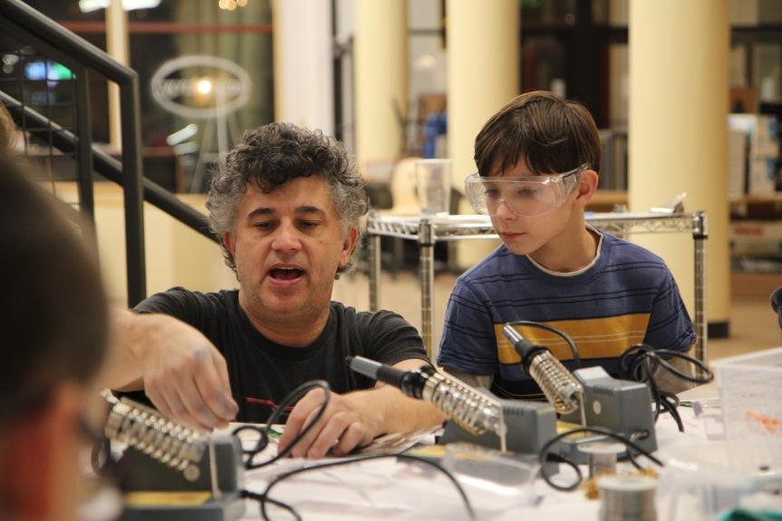 Bob kids soldering