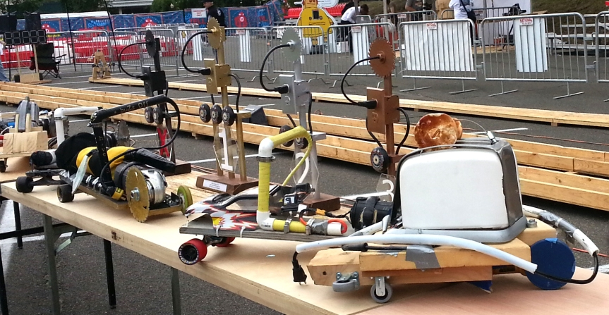 Power Tool Drag Racing Comes to the Streets ofTroy!