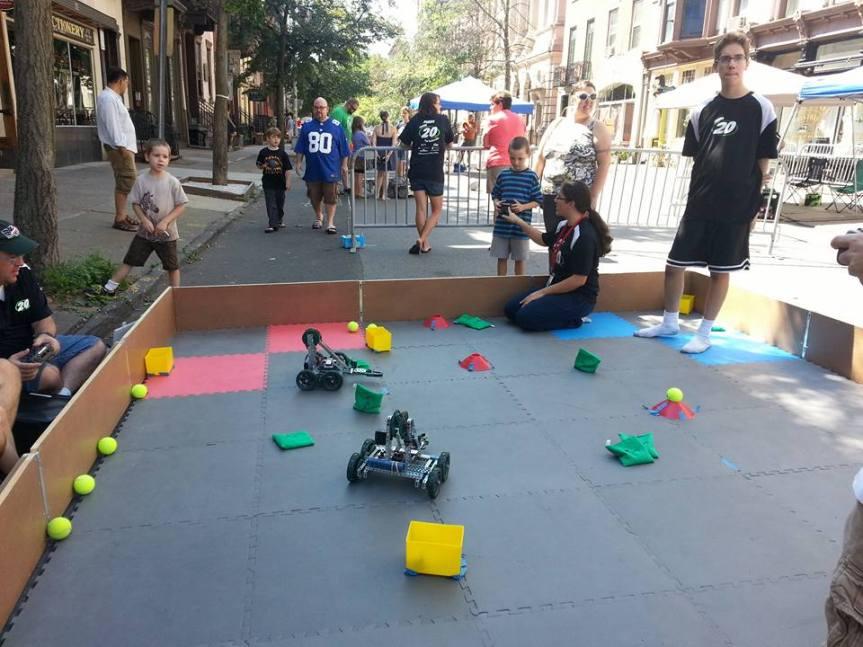 Troy Mini Maker Faire 2016 Was aBlast!